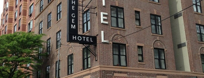 The GEM Hotel is one of Outdoor & Rooftop.