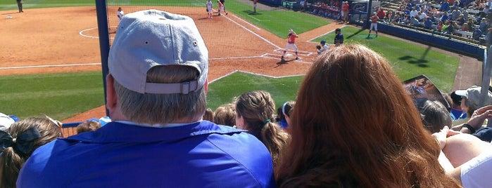 Katie Seashole Pressly Stadium is one of University of Florida Explorer badge.