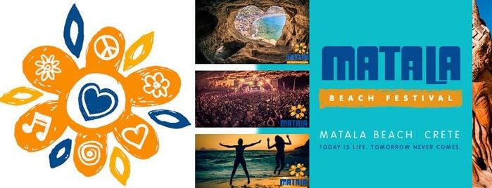 Παραλία Ματάλων (Matala Beach) is one of Visit Greece's tips.