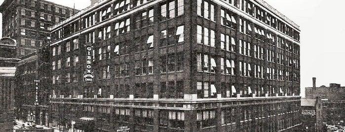 Caffe Barista & Deli is one of Surviving Historic Buildings in Cincinnati.
