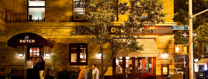 The Dutch is one of Breather + Foursquare Guide to SoHo.