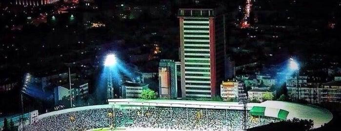 Bursa Atatürk Stadyumu is one of BURSASPOR's tips.