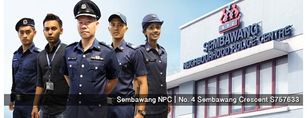 Sembawang Neighbourhood Police Centre is one of Singapore Police Force.
