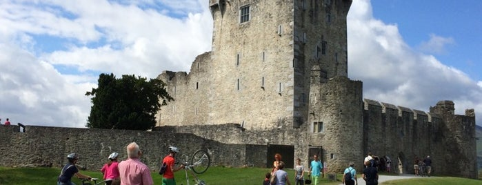 Ross Castle is one of Irlande.