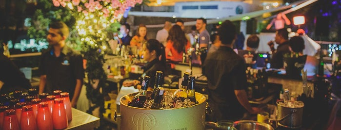 Frisky Rooftop Bar is one of KL Bars.