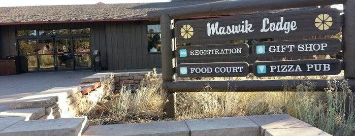 Maswik Lodge is one of Ferias USA 2012.