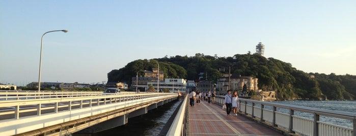 江の島弁天橋 is one of 2009.03 Kanagawa Tiba Tokyo.