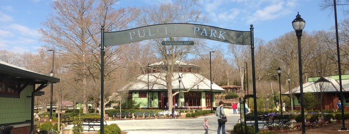 Pullen Park is one of Raleigh Favorites.