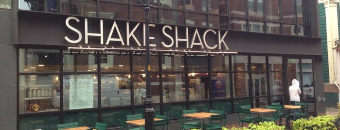Shake Shack is one of Nearby Neighborhoods: Harvard Square.
