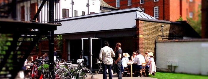 Rochelle Canteen is one of Restaurants in London.