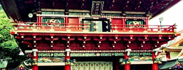 神田明神 (Kanda-Myōjin Shrine) is one of 秋葉原エリア.