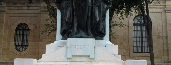Great Siege Square | Misraħ l-Assedju l-Kbir is one of Malta Cultural Spots.