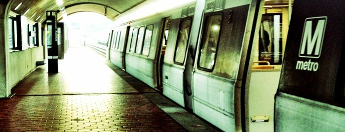 Eisenhower Avenue Metro Station is one of WMATA Train Stations.