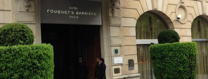 Hôtel Fouquet's Barrière is one of Tea Time.