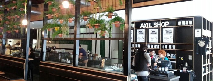Axil Coffee Roasters is one of Coffee, Breakfasts and Lunch. Cafe's of the SE.