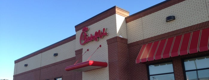 Chick-fil-A is one of food.