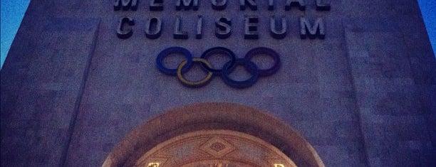 Los Angeles Memorial Coliseum is one of Pac-12 Football.