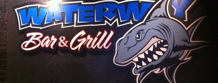 Water Way Bar & Grill is one of York College Student Hotspots.