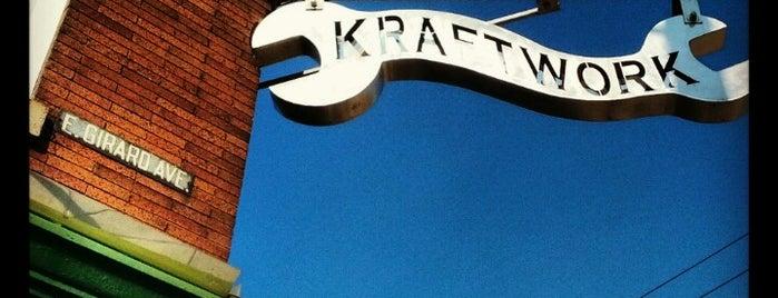 Kraftwork is one of Favorite Spots In Philadelphia.