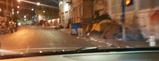 Skid Row is one of Before you leave LA, you must....