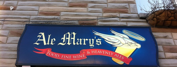 Ale Mary's is one of B-more.