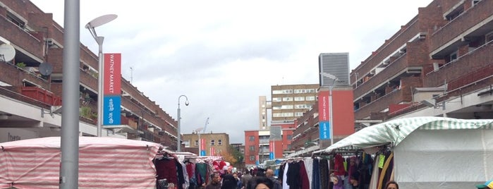 Watney Market is one of #LoveE1.
