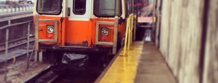 MBTA Orange Line is one of jamaica plain.