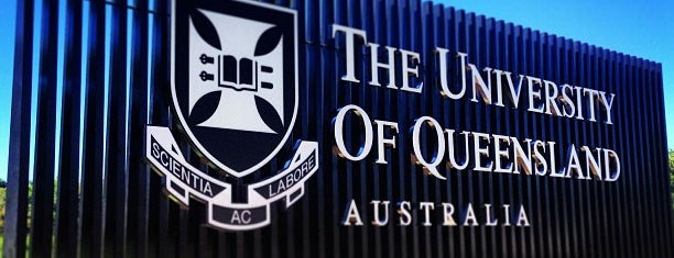 The University of Queensland is one of Regular places.