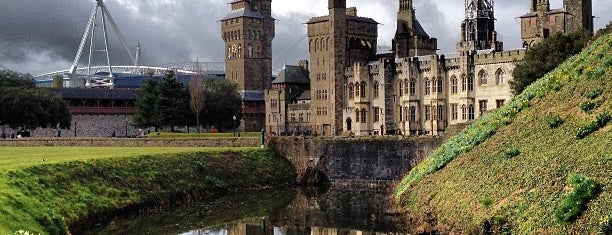 Cardiff Castle / Castell Caerdydd is one of Inspired locations of learning.