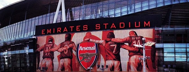 Emirates Stadium is one of London City Badge - London Calling.