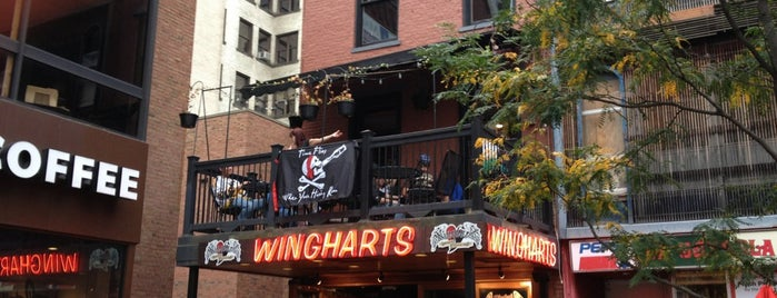 Wingharts Burger And Whiskey Bar is one of PghToDo.