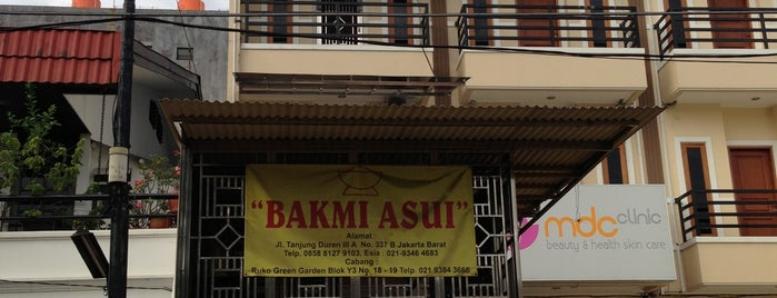 Bakmi Asui is one of Good Food In Jkt.