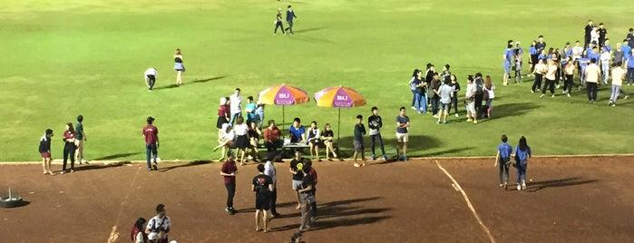 สนามบอล ม.กรุงเทพ is one of All-time favorites in Thailand.