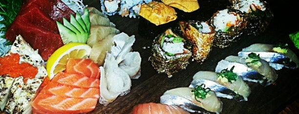 Blue Ribbon Sushi is one of Some Selections.