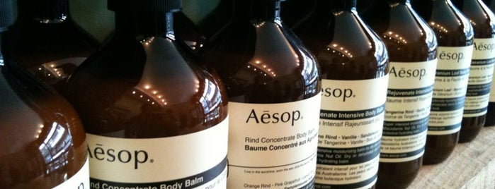 Aēsop is one of More London.