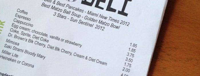 Josh's Delicatessen & Appetizing is one of Miami City Guide.