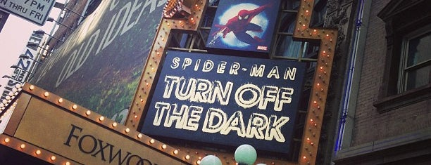 Spider-Man: Turn Off The Dark at the Foxwoods Theatre is one of New York New York.