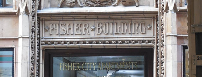 Fisher Building City Apartments is one of Two days in Chicago, IL.