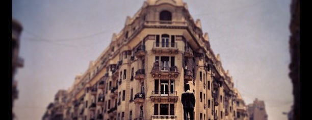 Talaat Harb Sq. is one of All-time favorites in Egypt.