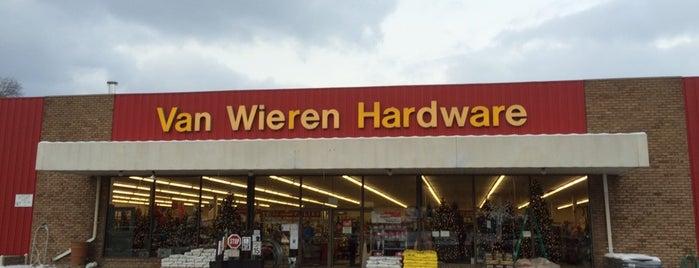 Van Wieren Hardware is one of Tool and Hardware Stores - West Michigan.
