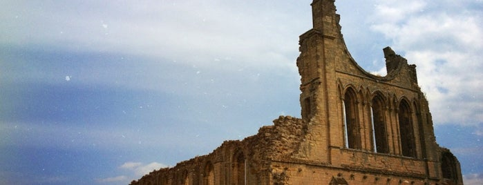 Byland Abbey is one of Best places in York, UK.