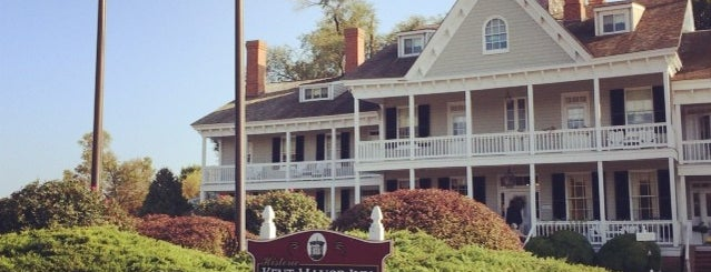 Historic Kent Manor Inn is one of Maryland Green Travel Hotels and Inns.
