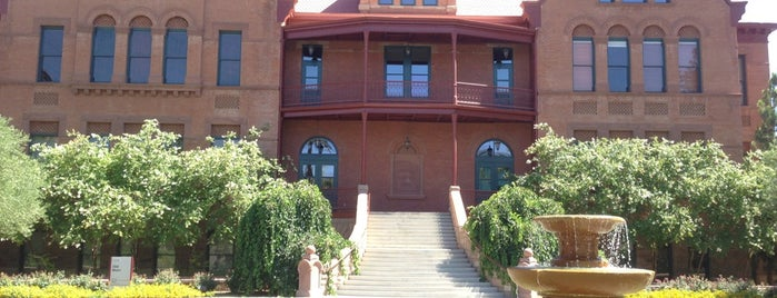Old Main is one of Tempe Points of Pride.