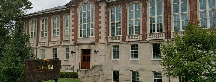 Tate Hall is one of MU History Tour.
