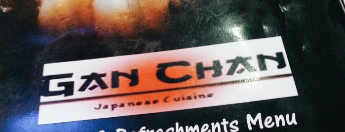 Gan Chan Japanese Cuisine is one of fave spot.