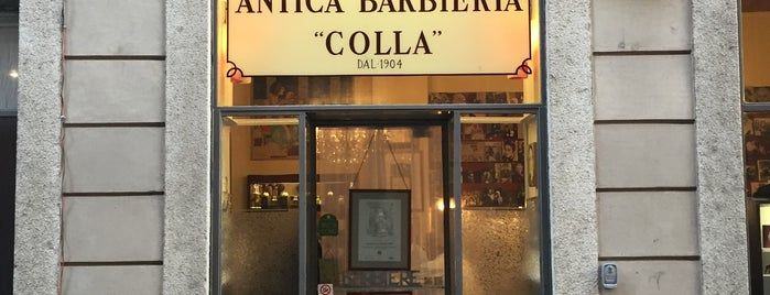 Antica Barbieria Colla is one of Restaurants milano.