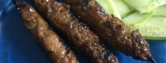 Bánh Mỳ Thịt Xiên Nướng Bà Nga is one of Măm măm ~.^.