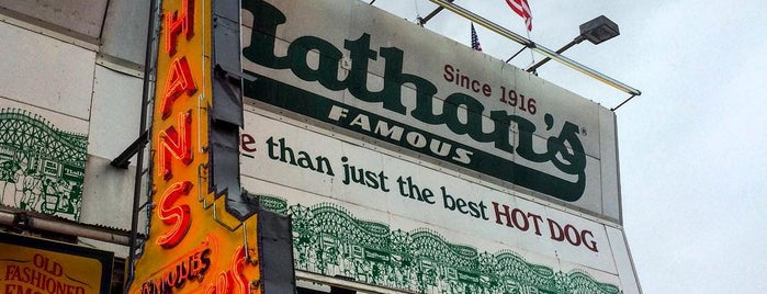 Nathan's Famous is one of NYC Trip.