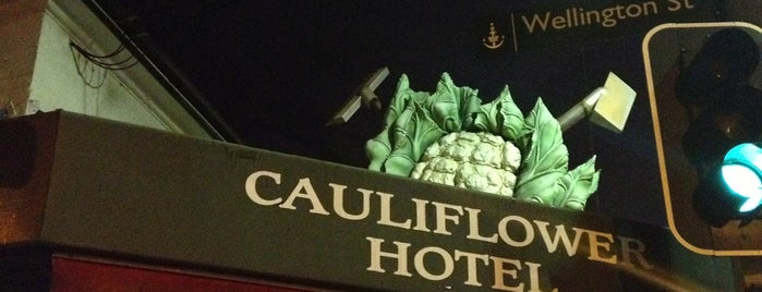 The Cauliflower Hotel is one of Sydney Pubs.