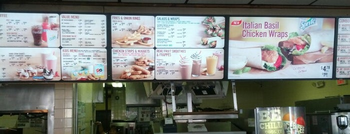 Burger King is one of Ferias USA 2012.
